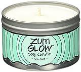 Indigo Wild Zum Glow Soy Candles, Sea Salt