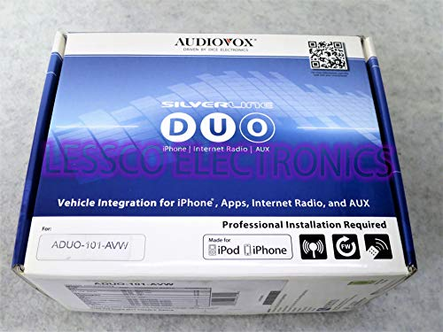 Audiovox ADUO-101-AVW Silverline Duo Integration Kit for Select Audi/VW