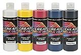 Createx Colors 8oz. Acrylic Primary Set (5 Colors), 8 oz