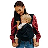 Boba Air Baby Carrier -Black - Breathable mesh Shoulder Straps, Padded Leg Openings for Extended Support and Comfort