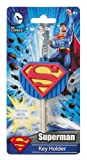 DC Superman Logo Soft Touch PVC Key Holder