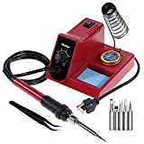 Vastar Soldering Iron Station - Soldering Iron, Anti Static and Temperature Adjustable