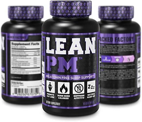 Lean PM Melatonin Free Fat Burner & Sleep Aid - Night Time Sleep Support, Weight Loss Supplement & Appetite Suppressant for Men and Women - 60 Caffeine Free, Keto Friendly Diet Pills 6