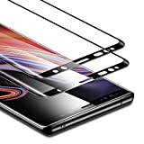 ESR Screen Protector Compatible for Samsung Galaxy Note 9, (2-Pack) Tempered Glass Screen Protector [Force Resistant up to 11 pounds] [Full Screen Coverage] for Note 9 (Released in 2018)