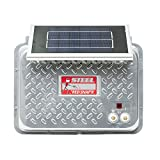 RED SNAP'R ESP6V-RSS Steel 6V Solar Fence Charger
