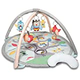 "Skip Hop Treetop Friends Baby Play Mat Activity Gym, 36"" X 19""H, Grey/Pastel"