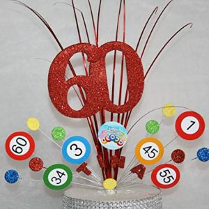 BINGO STARS CAKE TOPPER SPRAY DECORATION PARTY BIRTHDAY PERSONALISED ANY AGE ANY COLOUR 16TH 18TH 21ST 30TH 40TH 50TH 60TH 70TH 80TH 90TH ANY AGE ANY THEME 51Mhts3fujL