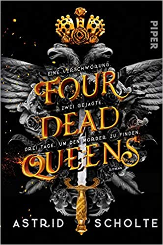 Cover Monday 6 - Four Dead Queens