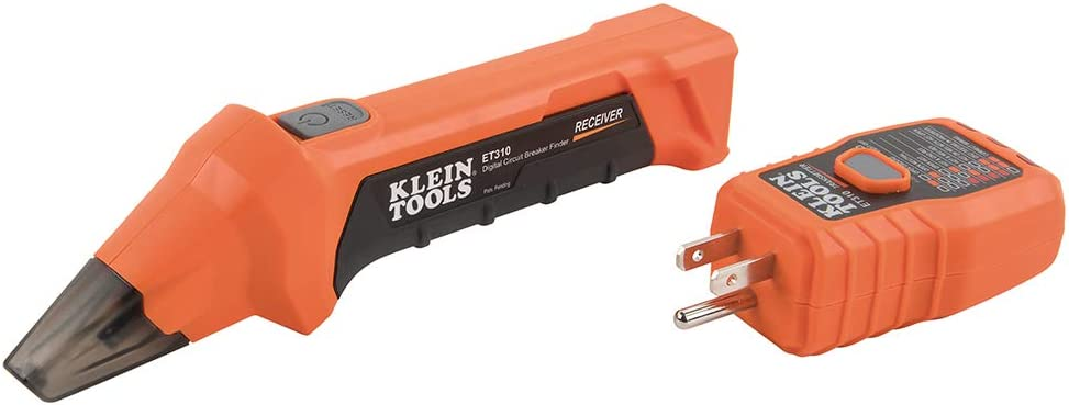 Klein Tools Et310 Ac Circuit Breaker Finder With Integrated Gfci Outlet Tester Amazon Com