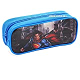 Batman vs Superman Dawn Justice Authentic Licensed Pencil Case (Blue)
