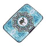 Elfish Mini RFID Aluminum Wallet Credit Cards Holder Metal ID Case for Men Women (Color35)