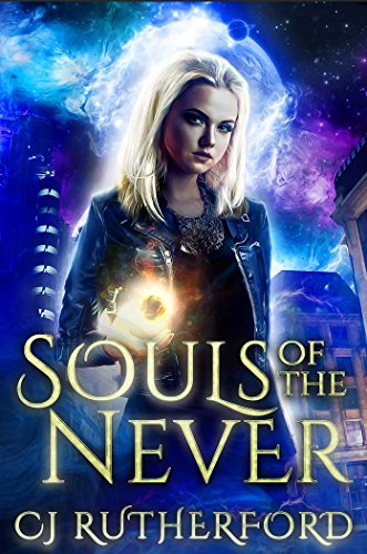 YA Book cover blonde girl witch magic orb