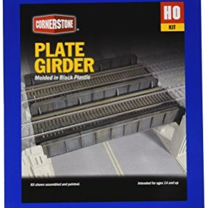 Walthers Cornerstone Series Kit HO Scale Through-Plate Girder Bridge 51MqOKKwFZL