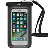Waterproof Case, iBarbe Universal Waterproof Case IPX8 Waterproof Pouch Dry Bag Compatible for iPhone Xs Max/iPhone Xs/iPhone XR/iPhone X/iPhone 8 Plus/7 Plus 8 7 6S Plus Galaxy up to 6.5