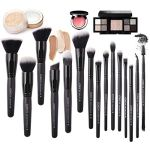 Zoreya-Makeup-Brushes-15Pcs-Makeup-Brush-Set-Premium-Synthetic-Kabuki-Brush-Cosmetics-Foundation-Concealers-Powder-Blush-Blending-Face-Eye-Shadows-Black-Brush-Sets