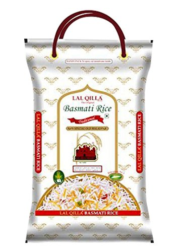 LAL. QILLA Traditional Basmati Rice 5 Kg Basmati is for Muglai, Indian