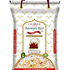 LAL. QILLA Traditional Basmati Rice 5 Kg Basmati is for Muglai, Indian