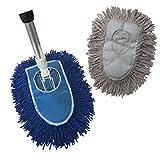 Triangle Dust Mop Kit: 4 piece Industrial Dust Mop Kit