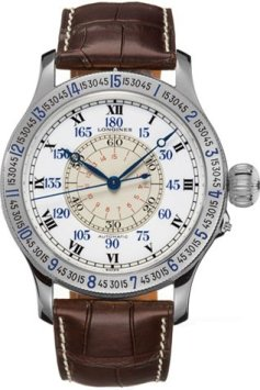 Longines Heritage Collection Lindbergh Mens Watch L2.678.4.11.0