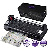 Professional 5-in-1 Laminator Machine   GoGo Gadgets Heavy Duty Lamination Machine with 25 Laminating Sheets   Perfect for Home Office Or School Use!