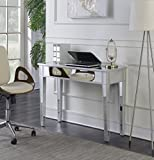 Product review for Convenience Concepts Gold Coast Mirrored Desk Vanity, Silver/Mirror