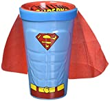 ICUP DC Superman Molded Caped Ceramic Pint Glass, Clear
