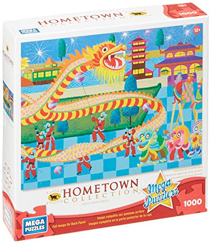 Mega Puzzles: Hometown Collection 1000 piece Dragon Dance Puzzle