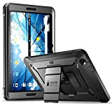 AT&T Primetime Tablet Case, SUPCASE [Heavy Duty] [Unicorn Beetle PRO Series] Full-Body Rugged Protective Case with Built-in Screen Protector for AT&T/ZTE K92 Primetime 2017 (Black)