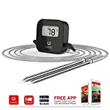 Cappec Bluetooth Digital Meat Thermometer for BBQ Oven Smoker Grill