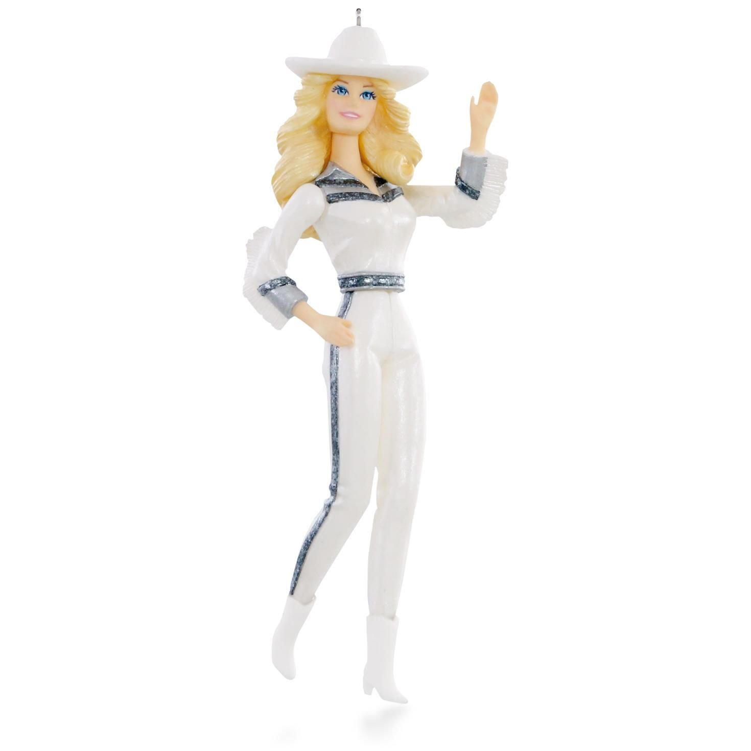 Gorgeous Western Star Barbie Ornament 2015