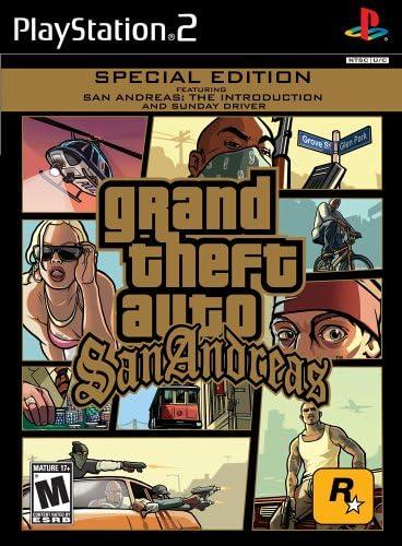 Amazoncom Grand Theft Auto San Andreas Playstation 2