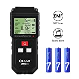 EMF Meter, LIUMY Handheld Mini EMF Electromagnetic Field Radiation Detector,Digital LCD Radiation Meter/Sound and Light Alarm