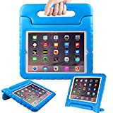 AVAWO Kids Case for Apple iPad 2 3 4 - Light Weight Shock Proof Convertible Handle Stand Kids Friendly for iPad 2, iPad 3rd Generation, iPad 4th Generation Tablet - Blue