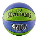 "Spalding NBA Varsity Basketball 29.5"" - Green/Blue"