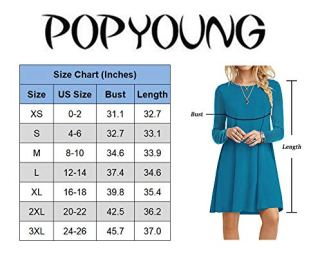T Shirt Dresses Casual Swing Dress