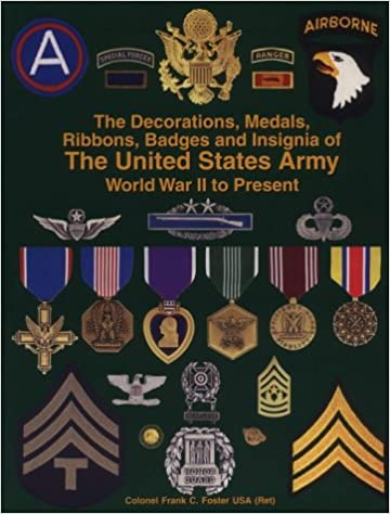 The Decorations Medals Ribbons Badges And Insignia Of United States Army World War Ii To Present 1st Edition