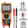 Multimeter Janisa PM18C Digital Multimeters Electric AC DC Voltage Current Resistance Tester True RMS 6000 Counts NCV Temperature Measurement Amp Ohm Volt Multi Tester with LCD Backlit
