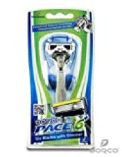 Dorco Pace - 6 Blade Razor with Trimmer For Men