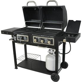 Dual-Fuel-Combination-CharcoalGas-Grill