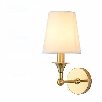 Ljl Lampe De Mur En Cuivre Américain Nordique Ikea Salon