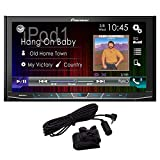 PIONEER MVH-300EX Double Din Digital Multimedia Video Receiver with 7' WVGA Touchscreen Display Built-in Bluetooth