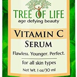 ToLB Vitamin C Serum for Face with Hyaluronic Acid – Anti Aging Anti Wrinkle Facial Serum with Natural Ingredients – Paraben Free, Vegan – Best Vitamin C with Hyaluronic Acid Serum for Skin – 1 fl oz