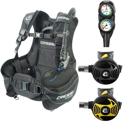 Cressi Sub Start Equipment for Scuba Diving