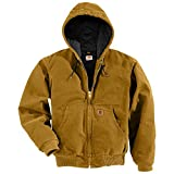 Product review for Carhartt Men's Big & Tall Quilted Flannel-Lined Sandstone Active Jacket J130