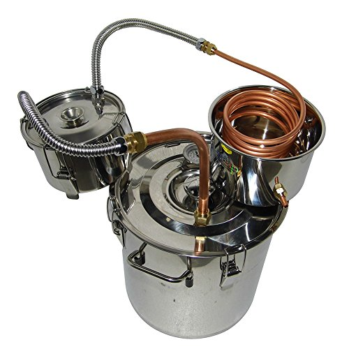 OLizee-5-Gal-Stainless-Steel-Water-Alcohol-Distiller-Copper-Tube-18L-Moonshine-Still-Spirits-Boiler-Home-Brewing-Kit-with-Thumper-Keg