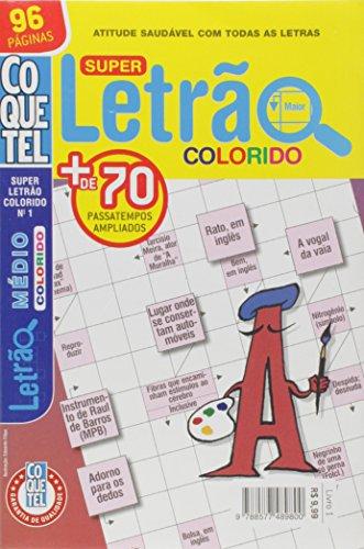 Coquetel. Super Letrão Colorido - Nível Médio. Livro 1