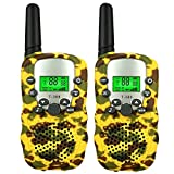 Dreamingbox Boy Toys Age 4-5, Tisy Long Range Handheld Two Way Radios for Adult Girls Birthday Presents Gifts for 3-12 Year Old Boys DJ04