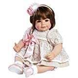 Adora Toddler Enchanted 20' Girl Weighted Doll Gift Set for Children 6+ Huggable Vinyl Cuddly Snuggle Soft Body Toy