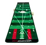 ProAdvanced ProInfinity Putting Mat - 4 Speed Golf Green Simulater - Special Package - for Family - for Children - for Party
