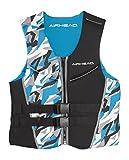 AIRHEAD CAMO COOL Men's Kwik-Dry Neolite Flex Vest, Blue